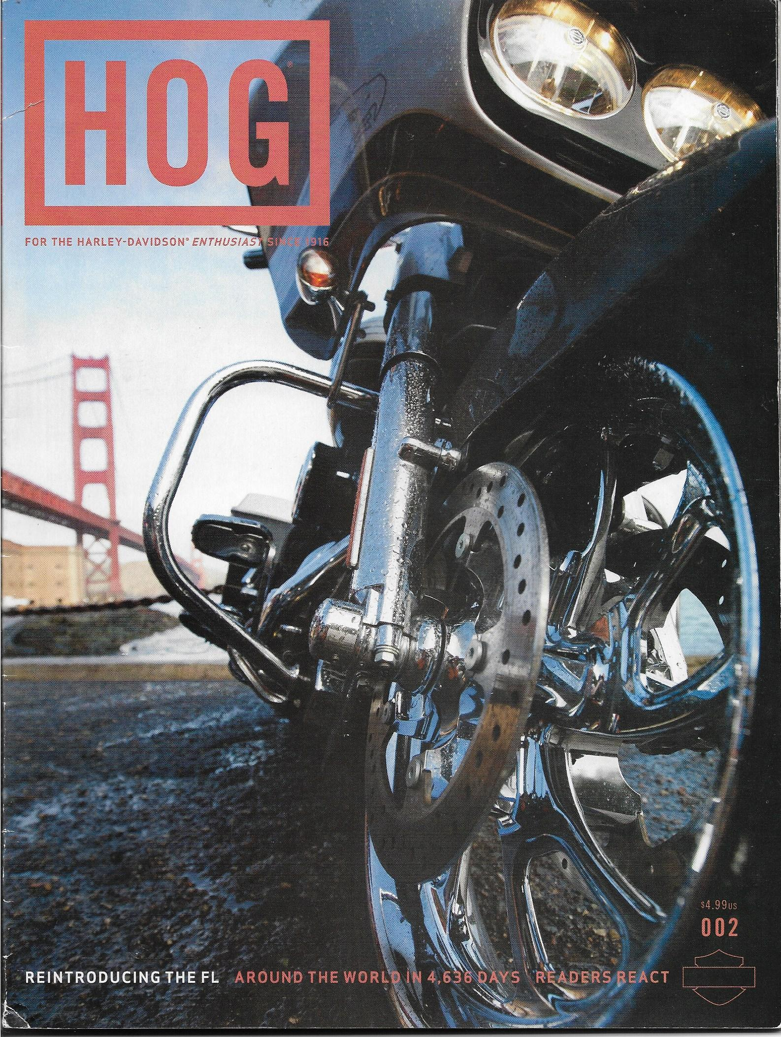 Revista HOG Enthusiast